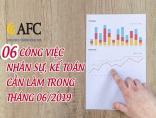 06 công việc Nhân sự, Kế toán cần làm trong tháng 06/2019