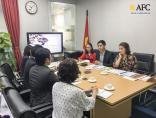AFC gặp gỡ đại diện trường Asian International Center (AIC)  - Tăng cường hợp tác