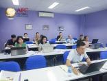 CFO K35 tại TP. Hồ Chí Minh thực hành lập kế hoạch tài chính