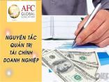 Các nguyên tắc quản trị tài chính doanh nghiệp