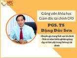 Chân dung PGS.TS Đặng Đức Sơn - Phó Giáo Sư trẻ nhất ngành kinh tế Việt Nam năm 2011 - Chuyên gia đào tạo quản trị tài chính doanh nghiệp