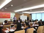 Cùng SCIC tổ chức thành công khóa đào tạo Kỹ năng lập kế hoạch tài chính doanh nghiệp