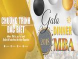 GALA DINNER MBA 2018 – Sẽ là một đêm của những cảm xúc khó quên