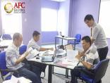 Lớp CFO K34 tại TP Hồ Chí Minh thực hành Phân tích và kiểm soát nội bộ tài chính doanh nghiệp