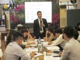 """Tổ chức thành công khóa Inhouse """"Kỹ năng giao tiếp khách hàng"""" tại Vietcombank Hà Nam"""