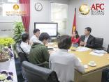 AFC tiếp đón đoàn khách Trường Nhật ngữ Atago sang thăm và làm việc