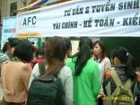 Viện quản trị tài chính AFC tư vấn & tuyển sinh hiệu quả tại Festival tuyển dụng